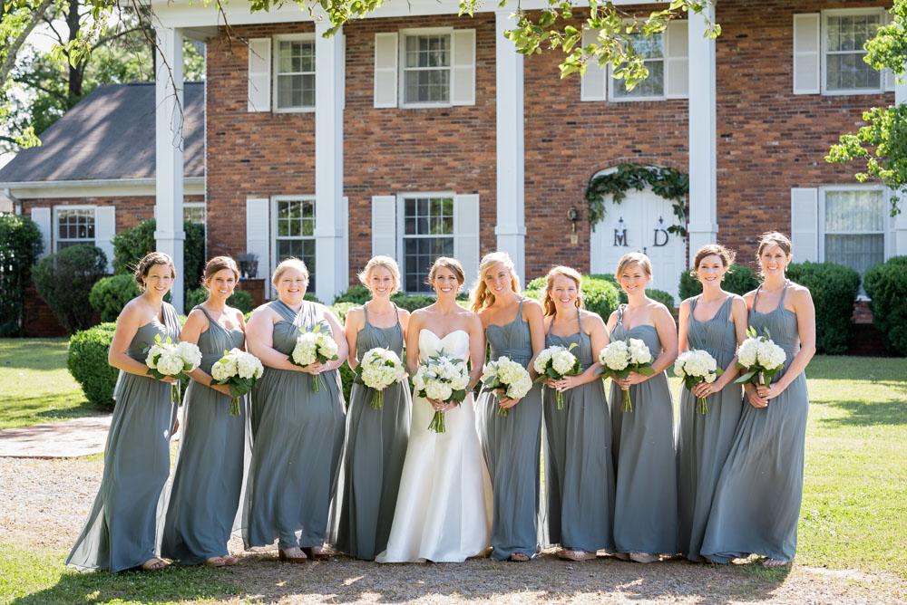 tuscaloosa alabama wedding photographer bridesmaids