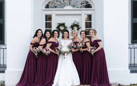 Demopolis Winter Wedding   Tuscaloosa Wedding Photographer