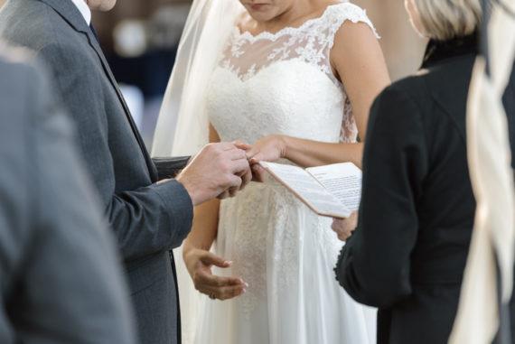 exchanging vows birmingham wedding